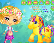 Her little pony dress up j�t�kok ingyen