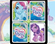My Little Pony mem�ria j�t�k
