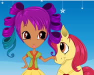 Pony princess hairstyles j�t�kok